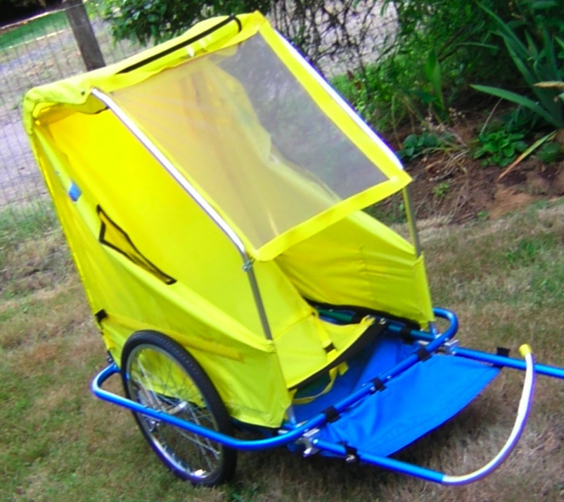 Bike trailer for adults confirm. was