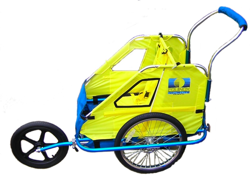 Bellelli Bike Trailer Stroller Kit Bicycling And The